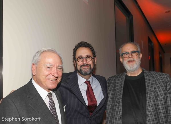 Bruno A. Quinson, Tony Kushner, William Finn