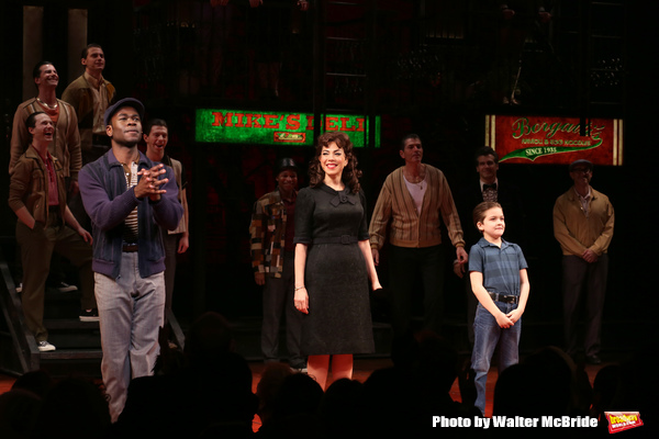 Photo Coverage: A BRONX TALE Takes Opening Night Bows on Broadway!