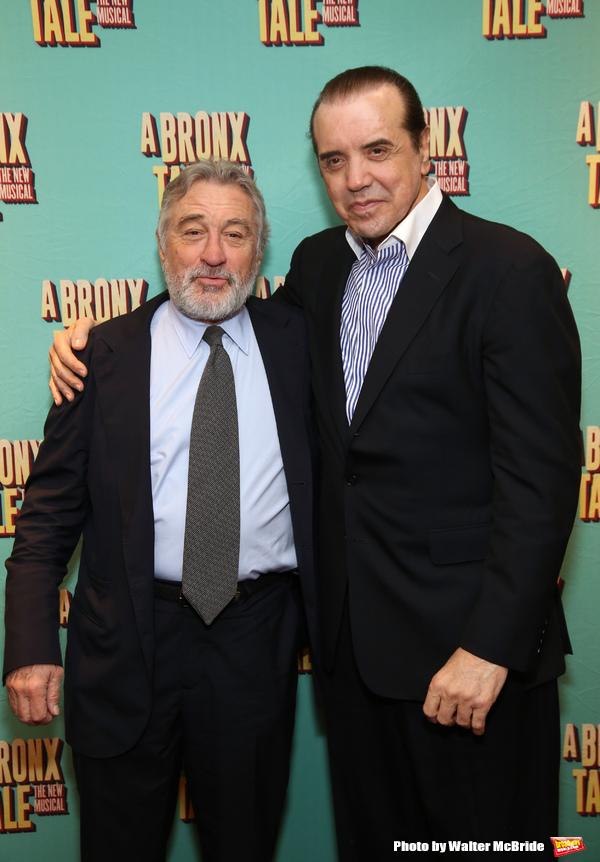 Robert De Niro and Chazz Palminteri