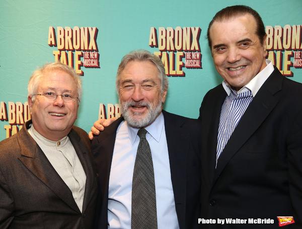 Alan Menken, Robert De Niro, Chazz Palminteri