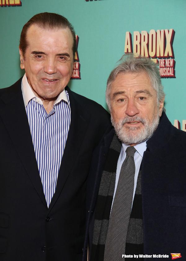 Chazz Palminteri and Robert De Niro
