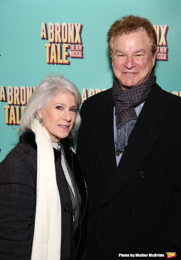 Jamie deRoy and Robert Wuhl  Photo