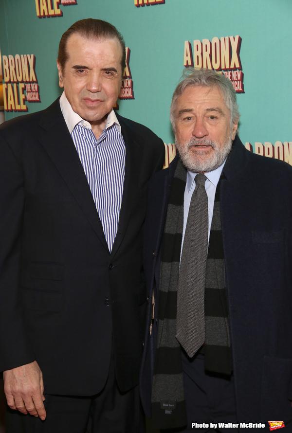 Chazz Palminteri, Robert De Niro