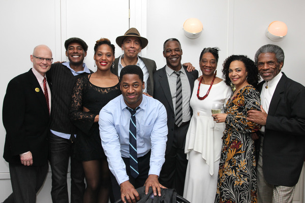 Photo Flash: Starry SEVEN GUITARS Celebrates Opening Night at Yale Rep with Andre De Shields and More