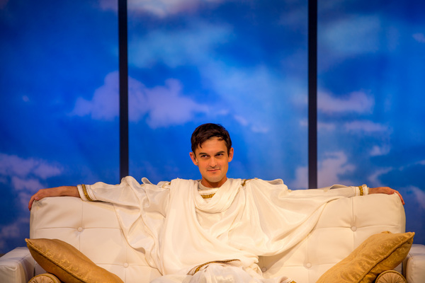 Photo Flash: Holy Father! First Look at Wesley Taylor in AN ACT OF GOD at Denver Center