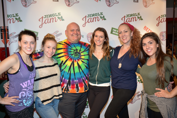 Thommie Retter and Ann Cooley (Choreographer/Director) with their assistants-Chey Johnson, Brianna Trilling, Ellie LaPointi, Maria Andreoli