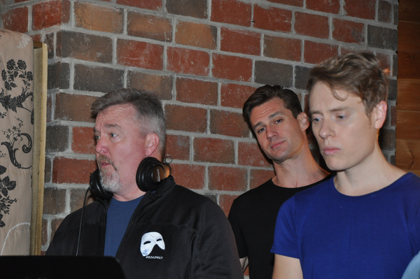 Duane McDevitt,   Nicholas Cunningham and Carrington Vilmont