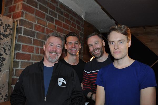 Duane McDevitt, Nicholas Cunningham, Steve Greer and Carrington Vilmont