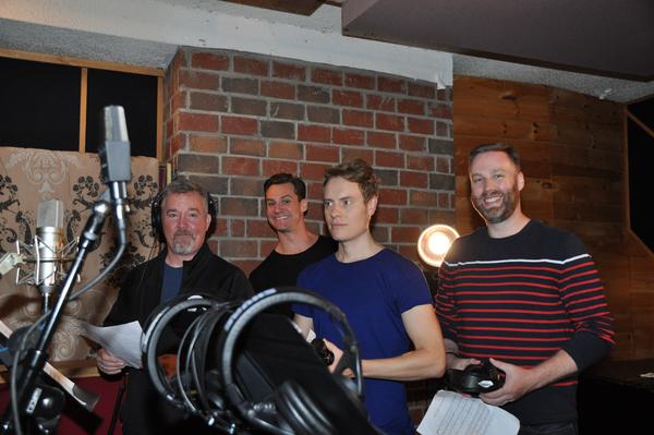 Duane McDevitt, Nicholas Cunningham, Carrington Vilmont and Steve Greer
