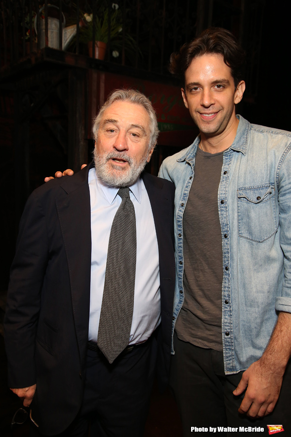 Robert De Niro and Nick Cordero