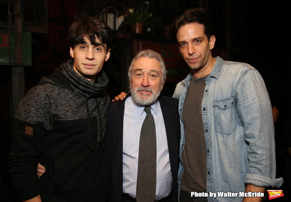 Bobby Conte Thornton, Robert De Niro and Nick Cordero