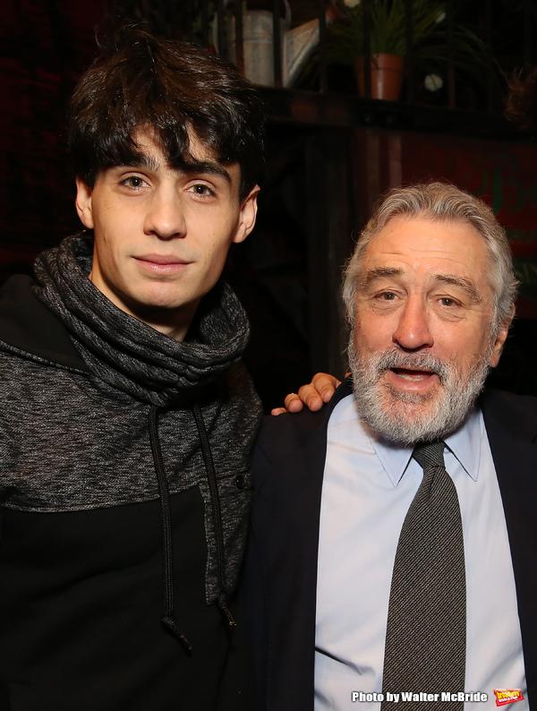 Bobby Conte Thornton and Robert De Niro  Photo