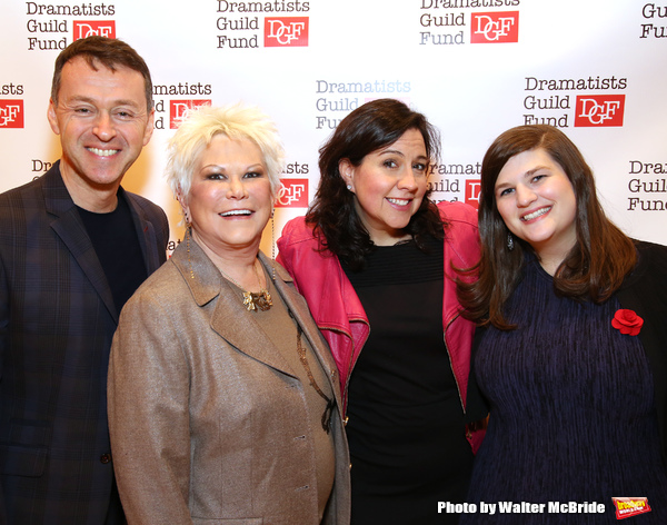 Andrew Lippa, Roe Green, Kristen Anderson-Lopez and Rachel Routh