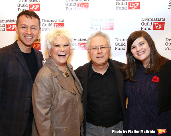 Andrew Lippa, Roe Green, Alan Menken, and Rachel Routh
