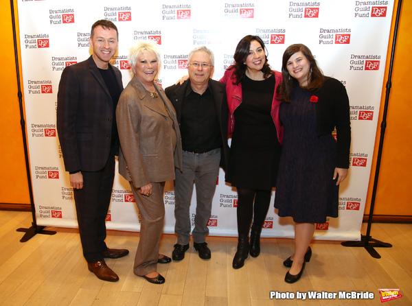 Andrew Lippa, Roe Green, Alan Menken, Kristen Anderson-Lopez and Rachel Routh