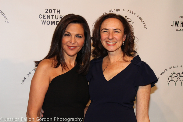 Barbara Manocherian and Johanna Pfaelzer