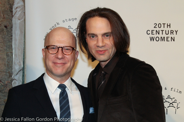 Richie Jackson and Jordan Roth