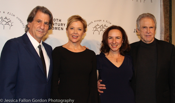 David Rockwell, Annette Bening, Johanna Pfaelzer and Warren Beatty