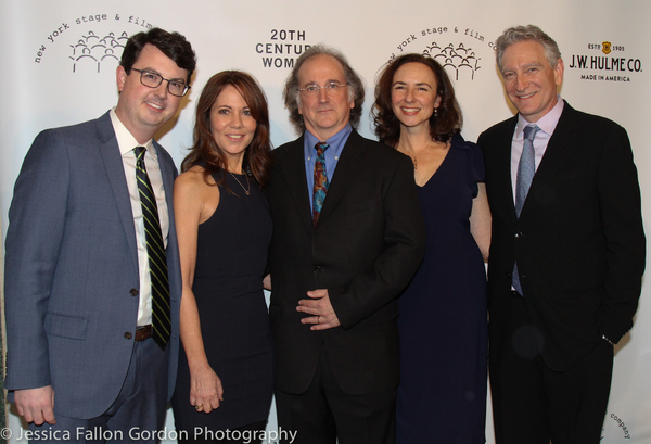 David Rockwell with the New York Stage and Film team