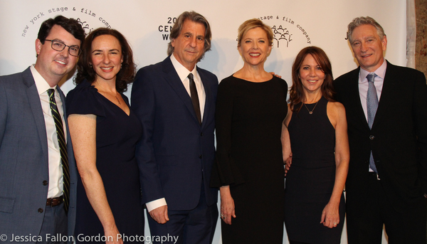 David Rockwell, Annette Bening and the New York Stage and Film team