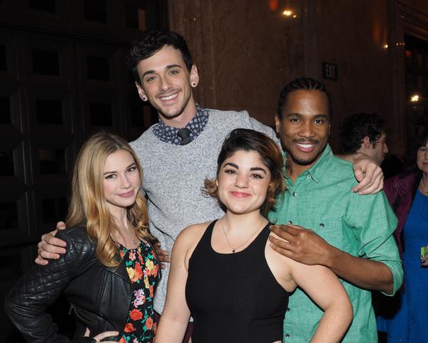 Sarah Daniels, Lyle Colby Mackston, Jennifer Foster, and Eric B. Anthony Photo