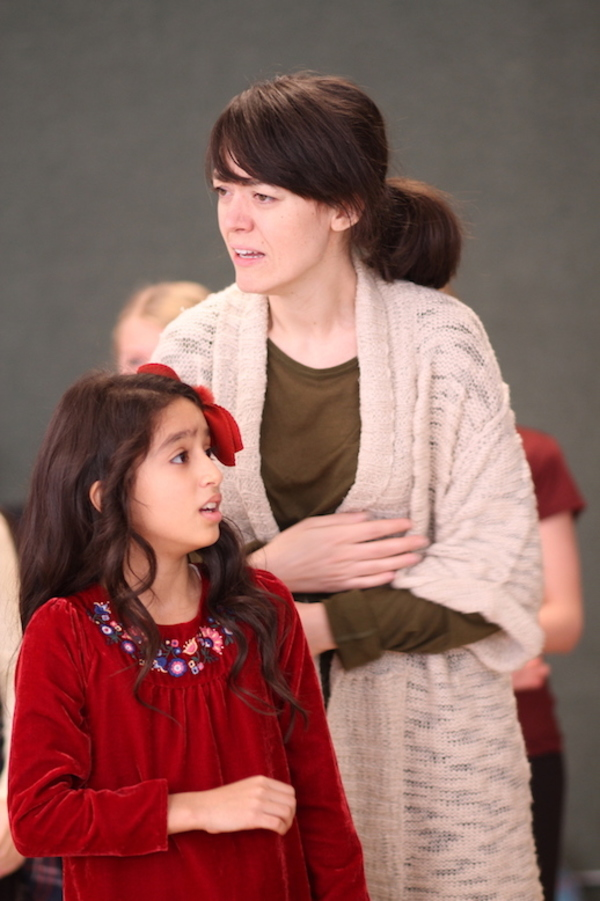 Photo Flash: In Rehearsal with MADELINE'S CHRISTMAS at Theatre Row