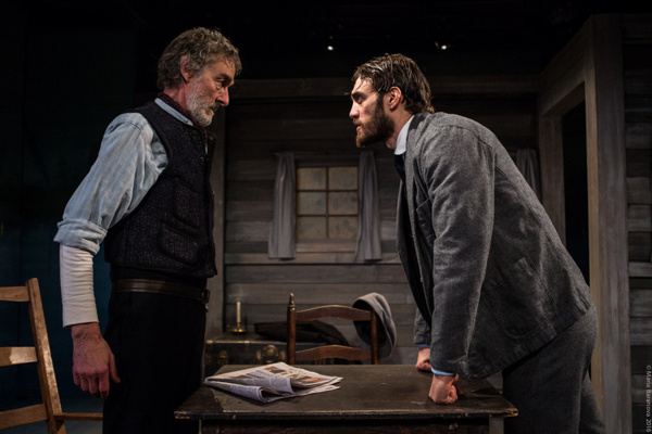 L to R: Stephen D'Ambrose and Ben Chase in ANNA CHRISTIE, directed by Peter Richards. Photo by Maria Baranova.