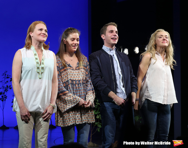 Jennifer Laura Thompson, Laura Dreyfuss, Ben Platt and Rachel Bay Jones