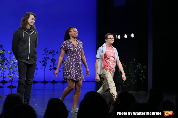 Mike Faist, Kristolyn Lloyd and Will Roland
