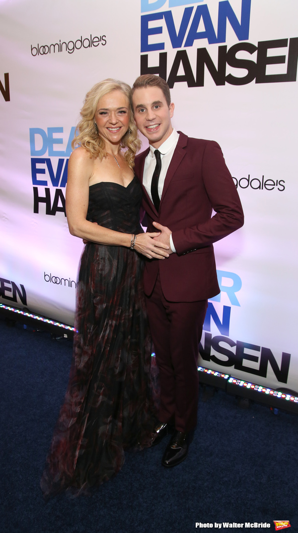 Rachel Bay Jones and Ben Platt