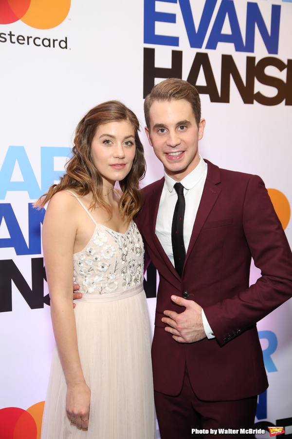 Laura Dreyfuss and Ben Platt