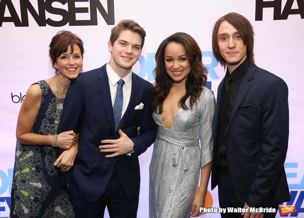 Garrett Long, Colton Ryan, Olivia Puckett and Michael Lee Brown  Photo