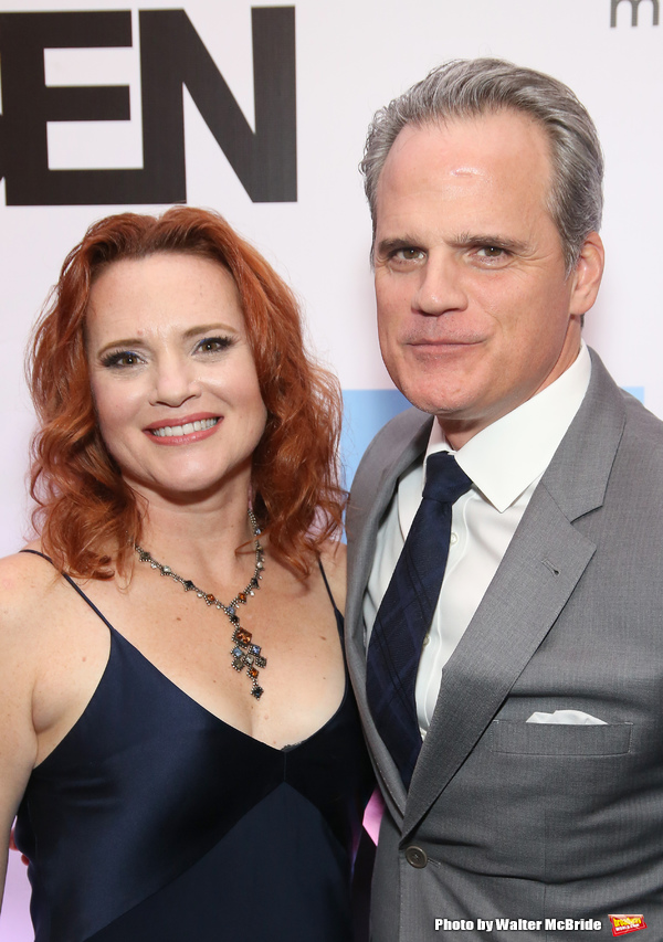 Jennifer Laura Thompson and Michael Park