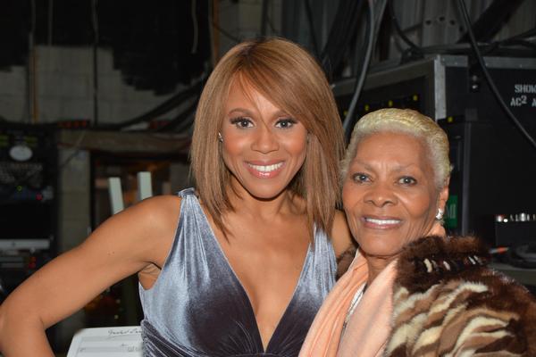 Deborah Cox and Dionne Warwick