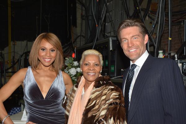 Deborah Cox,  Dionne Warwick and Judson Mills