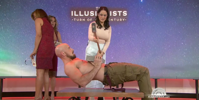 VIDEO: Jonathon Goodwin of Broadway's THE ILLUSIONISTS Performs on 'Today'