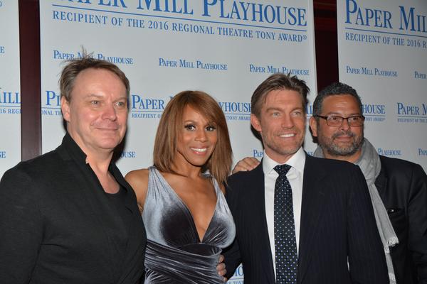 Frank Thomspn, Deborah Cox, Judson Mills and Alexander Dinelaris Photo