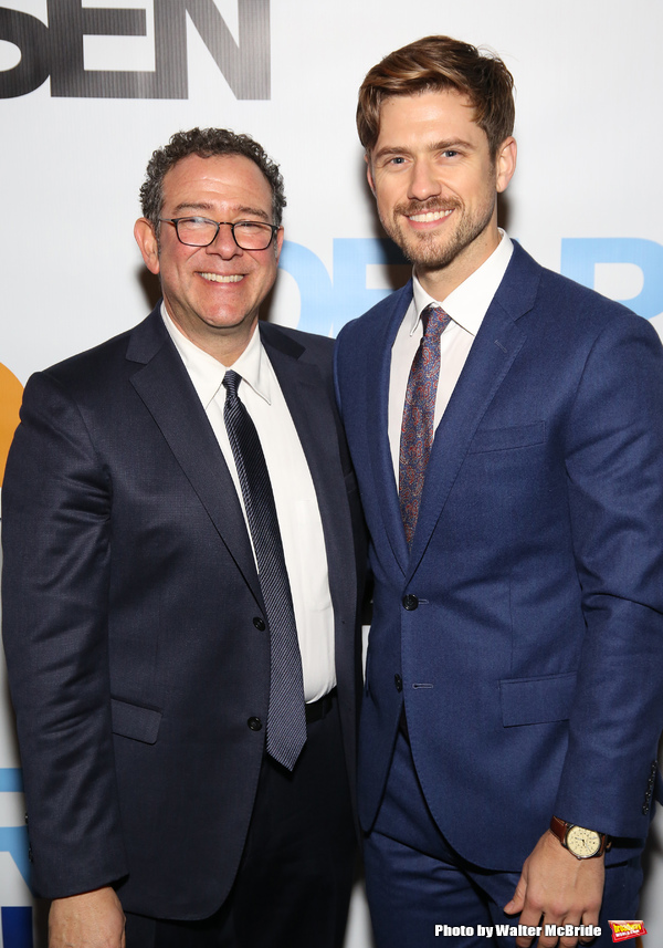 Michael Greif and Aaron Tveit