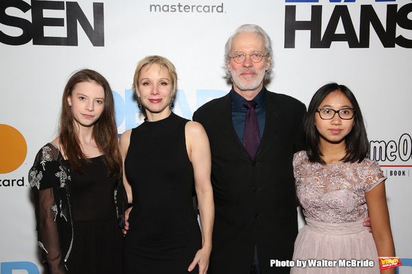 Charlotte d'Amboise and Terrence Mann and family