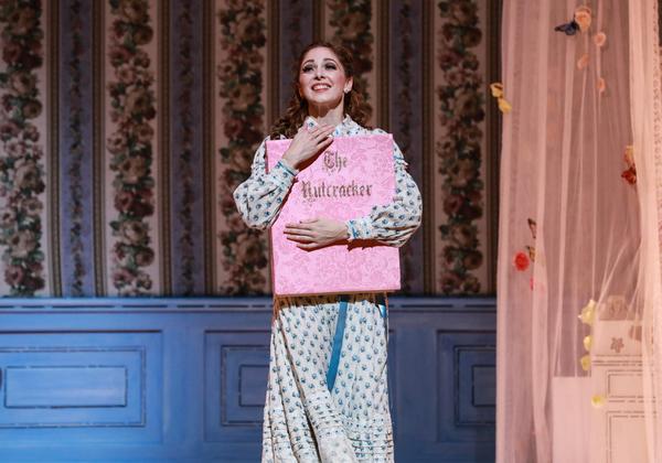 Melody Mennite as Clara in The Nutcracker