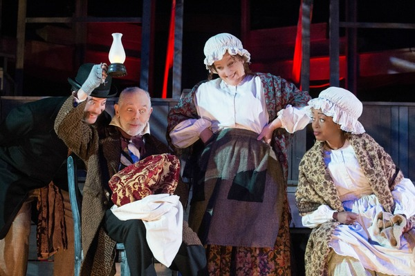 Photo Flash: Sneak Peek at Peter Van Norden in A CHRISTMAS CAROL at Rubicon Theatre
