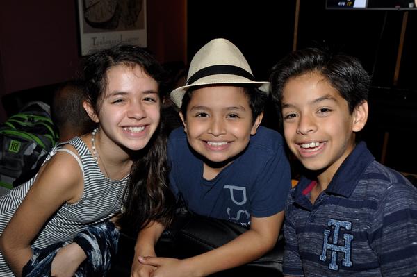 Fabi Aguirre, Eduardo Hernandez and Kevin Tellez Photo