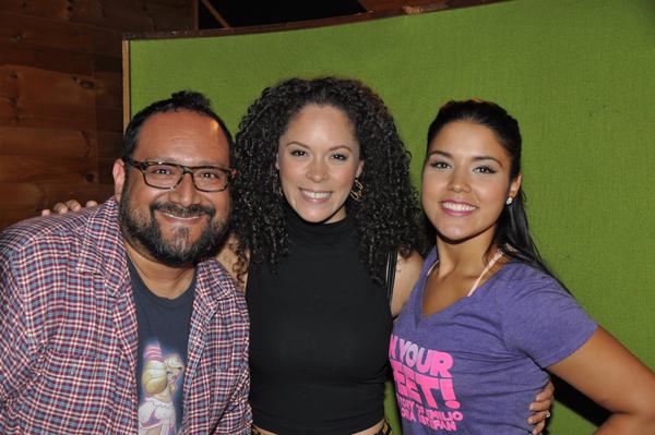 David Baida, Genny Lis Padilla and Linedy Genoa Photo