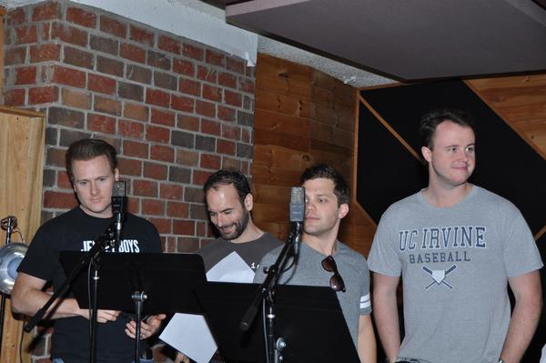 Jared Bradshaw, Nick Staub, Jon Hacker and Quinn VanAntwerp Photo