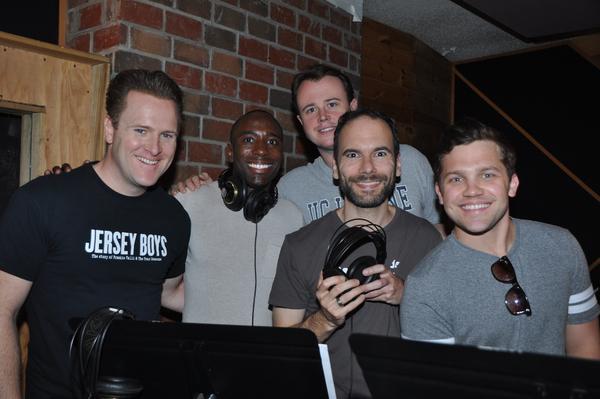 Jared Bradshaw, John Edwards, Quinn VanAntwerp, Nick Staub and Jon Hacker Photo