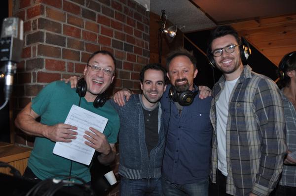 Patrick Wetzel, Rob McClure, Matt Allen and Max Clayton