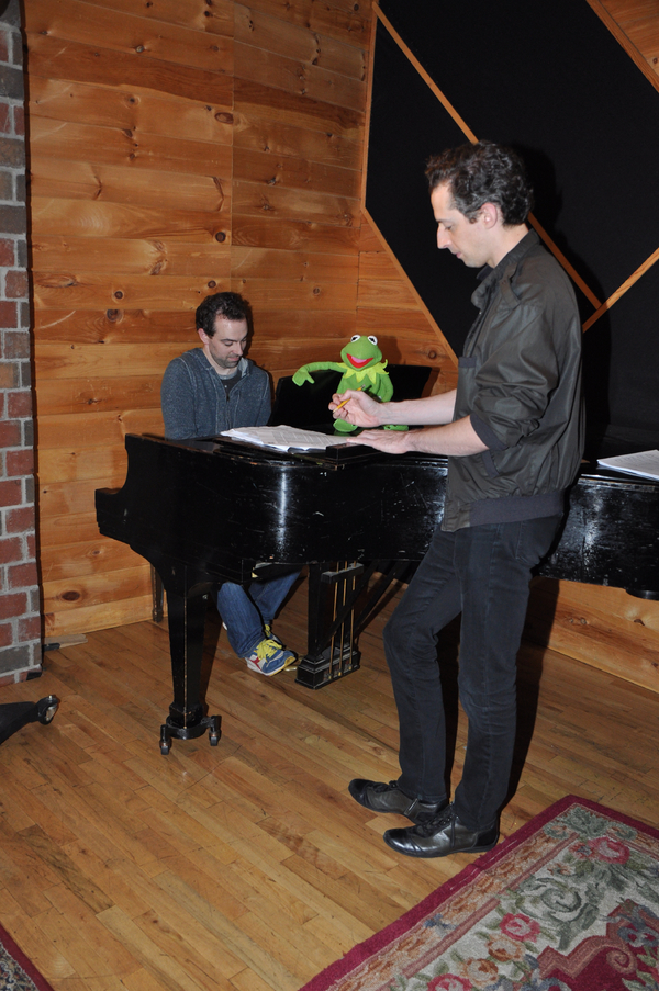 Exclusive Photo Coverage: SOMETHING ROTTEN Gets Help from a Friend for Carols For A Cure