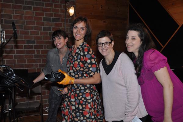 Elizabeth Earley, Meredith Benson, Joby Horrington and Kimberly Faye Greenberg