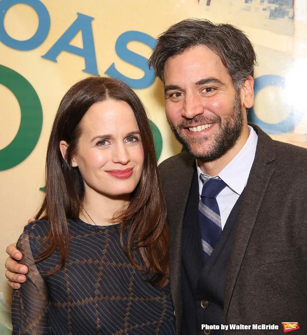 Elizabeth Reaser and Josh Radnor