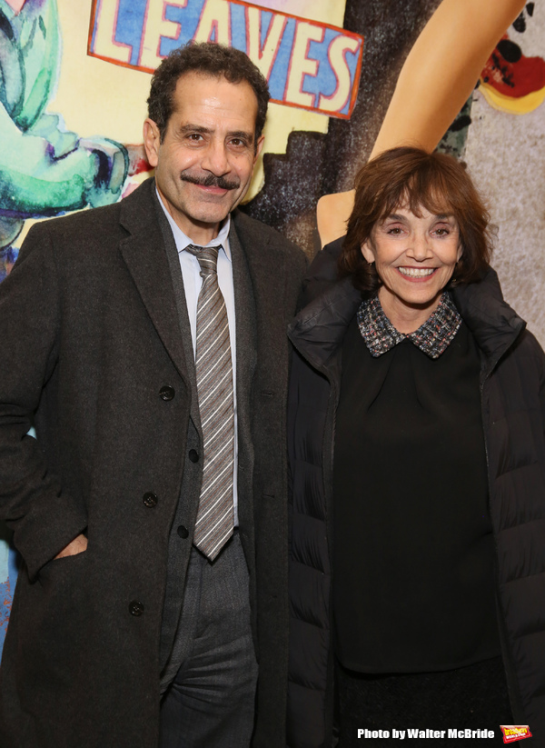 Tony Shalhoub and Brooke Adams